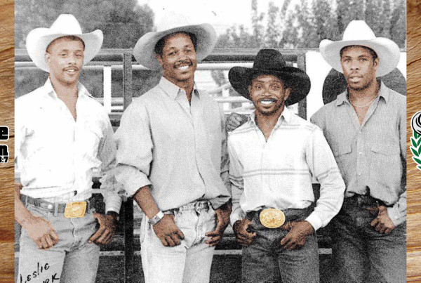 1987 NFR Qualifier Bryan Riley, Charlie Sampson, Keith Lewis top Bull Rider and Erwin Williams 3x NFR Qualifier in Brawley California