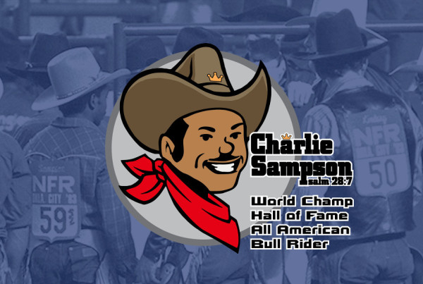Charlie Sampson Bullrider Pro Rodeo Hall of Fame