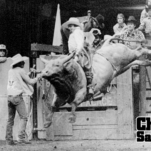 Charlie Sampson 1981 Flying U Rodeo in San Francisco California.