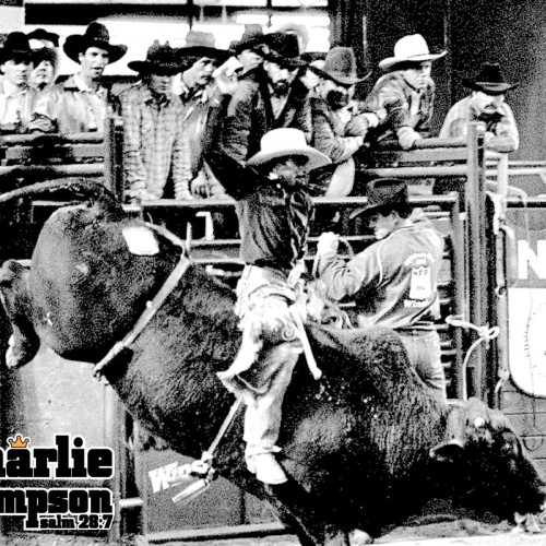 Charlie Sampson 1984 NFR Oklahoma City Sonny Linger Stock Contractor