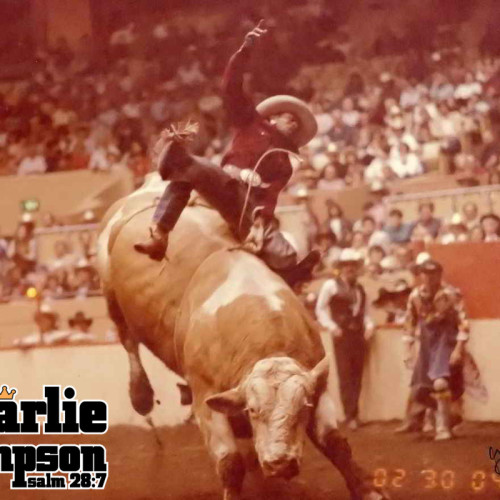 Charlie Sampson 1984 Number 98 Flying U Cow Palace San Fransisco California