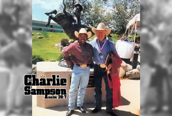 Charlie Sampson and Gary Leffew