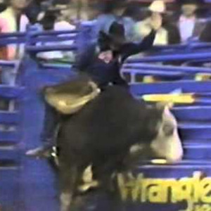 Rickey Lindsey is possibly the most legendary bull rider in history. It's hard to find even a picture or video of Lindsey today, but every single bull rider from Cody Lambert's era knows more than a few stories of Lindsey's exploits, both in and out of the arena.