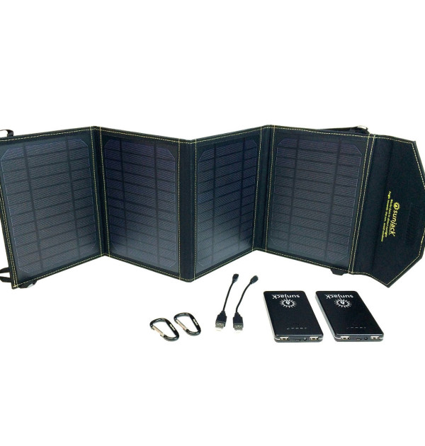 SunJack 20W Portable Solar Charger